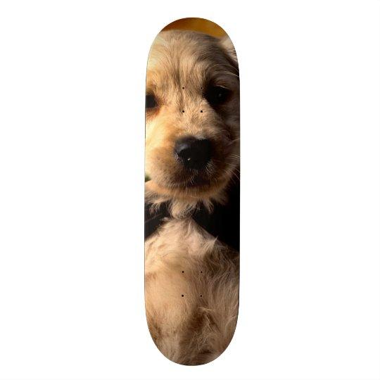 Cute Puppy Custom Pro Park Board 21.6 Cm Old School Skateboard Deck