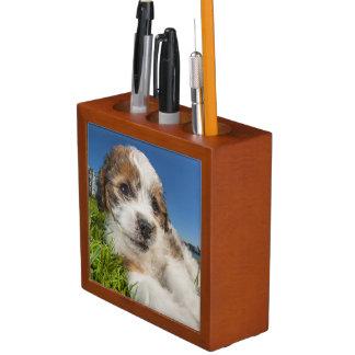 Cute puppy dog (Shitzu) Pencil/Pen Holder