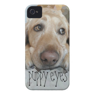 Cute Puppy Eyes Case-Mate iPhone 4 Cases