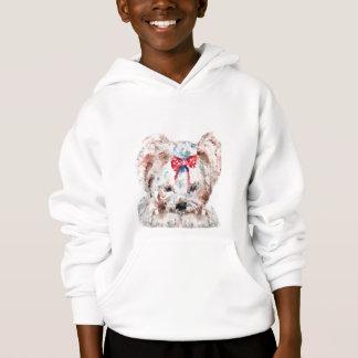Cute puppy Kids' Hanes ComfortBlend® Hoodie