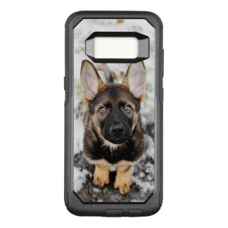 Cute Puppy Looking Up OtterBox Commuter Samsung Galaxy S8 Case