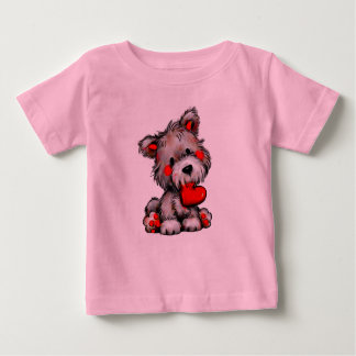 cute puppy love t-shirt for boy or girl