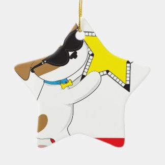 Cute Puppy Star Ornaments