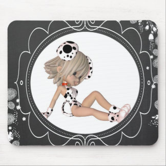 Cute Puppy Toon Mouse Pad
