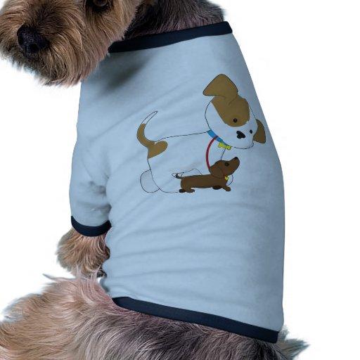 Cute Puppy Walking a Pup Pet Clothes
