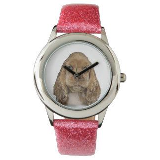 cute puppy wrist watches