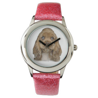 cute puppy wristwatch