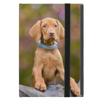 Cute puppyeyed Hungarian Vizsla Dog Puppy Photo /- iPad Mini Cover