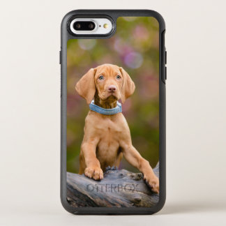 Cute puppyeyed Hungarian Vizsla Dog Puppy Photo ./ OtterBox Symmetry iPhone 8 Plus/7 Plus Case