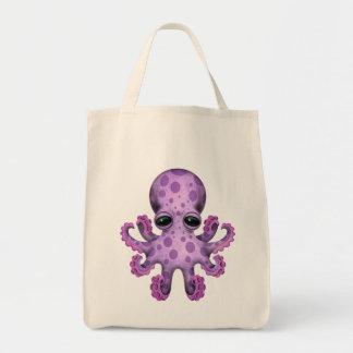 Cute Purple Baby Octopus