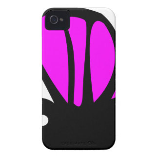 Cute purple butterfly Case-Mate iPhone 4 cases