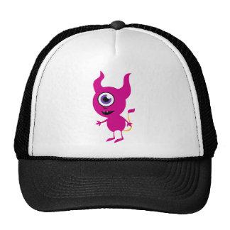 Cute Purple Cyclops Trucker Hat