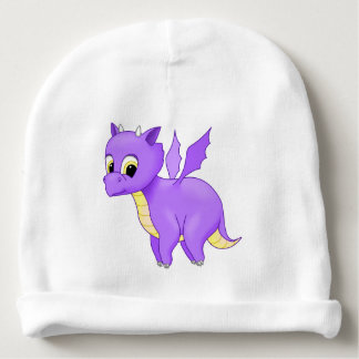 Cute Purple Flying Baby Dragon Baby Beanie