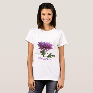 Cute Purple Passion Floral T-shirt by Yotigo