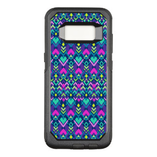 Cute Purple Pink Tribal OtterBox Commuter Samsung Galaxy S8 Case