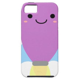 Cute Purple Rocket Ship iPhone 5 Covers
