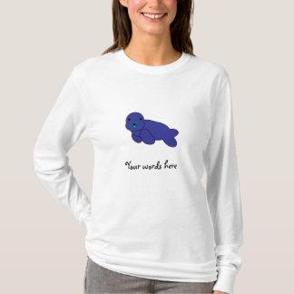 Cute purple seal T-Shirt