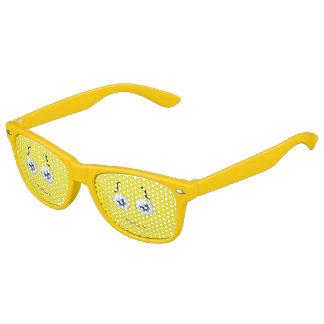 Cute Puzzled  Emoji Yellow Kids Sunglasses
