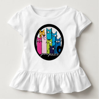 cute, quirky and ruffles! Peepers! Toddler T-Shirt
