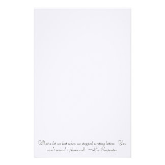 Cute quote Stationary Custom Stationery