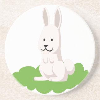cute rabbit animal coaster