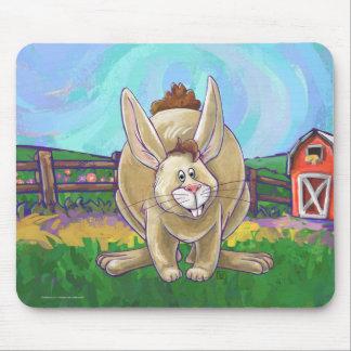 Cute Rabbit Animal Parade Mouse Pad