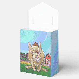 Cute Rabbit Animal Parade Wedding Favour Box