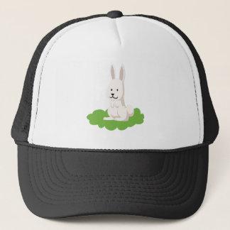 cute rabbit animal trucker hat