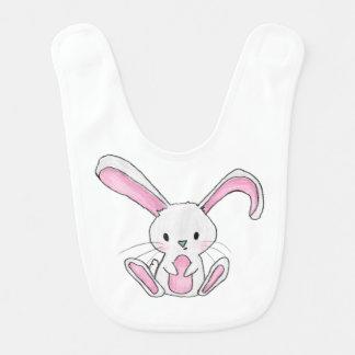 Cute Rabbit Bunny Illustration Woodland Bib