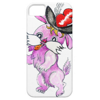 Cute Rabbit Drawing 2 iPhone 5 Cases