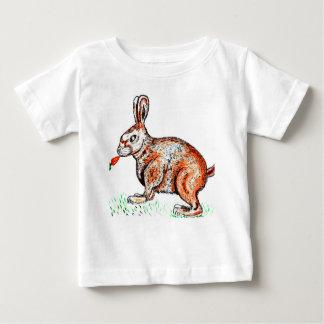 Cute Rabbit Drawing Baby T-Shirt
