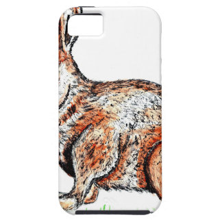 Cute Rabbit Drawing iPhone 5 Cases