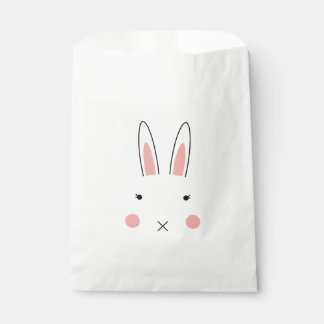 Cute Rabbit Face Treat Bag
