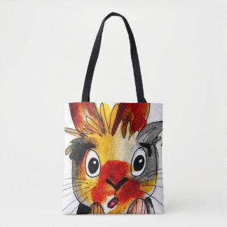 Cute Rabbit Tote Bag