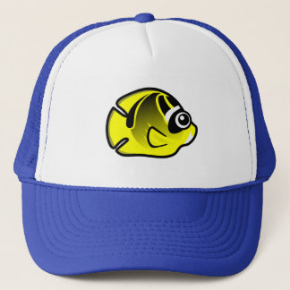 Cute Raccoon Butterflyfish Trucker Hat