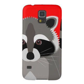 Cute Raccoon Drawing Galaxy S5 Case
