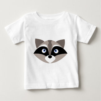 Cute Raccoon Face Baby T-Shirt