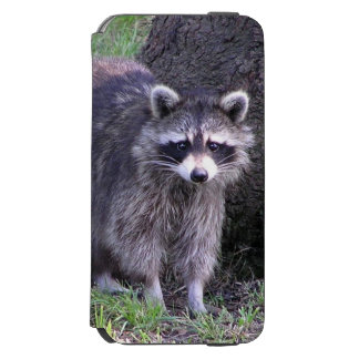 Cute Raccoon Incipio Watson™ iPhone 6 Wallet Case
