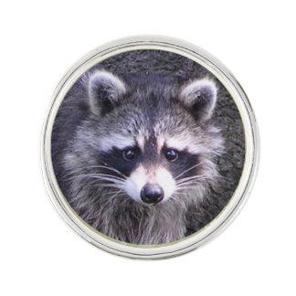 Cute Raccoon Lapel Pin