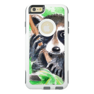 Cute Raccoon Watercolor Art OtterBox iPhone 6/6s Plus Case