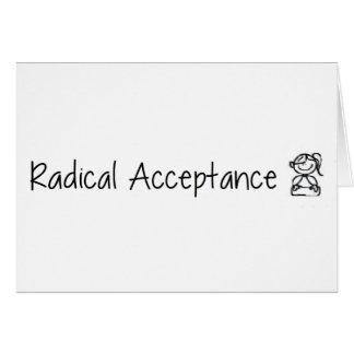 Cute Radical Acceptance Card