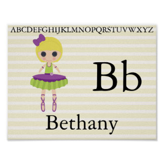 Cute Rag Doll Alphabet Letters Nursery Decor