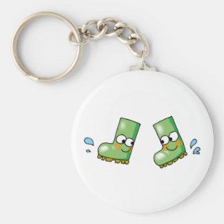 cute rain boots key ring