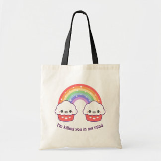 Cute Rainbow Cupcakes Tote Bag