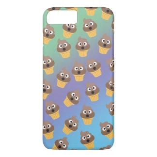 Cute Rainbow Poop Emoji Ice Cream Cone Pattern iPhone 8 Plus/7 Plus Case