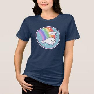 Cute Rainbow Seal T-Shirt