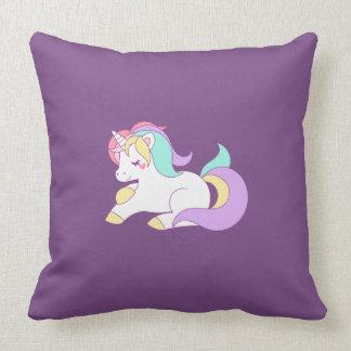 Cute Rainbow Unicorn Cushion