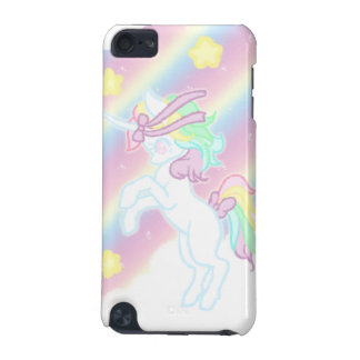 Cute Rainbow Unicorn iPod Touch 5G Cases