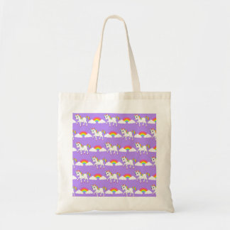 Cute Rainbow Unicorns Totes Bag
