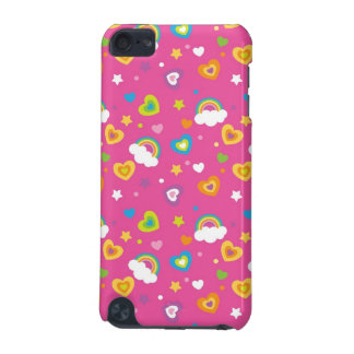 cute rainbows hearts and stars pattern iPod touch 5G covers